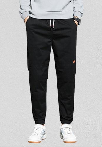 Trendyshop black Skinny Jogger Pants FBDE5AADEA8F24GS_1