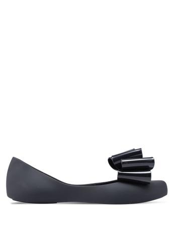 Twenty Eight Shoes 黑色 蝴蝶結平底鞋 AD182SH0D88739GS_1