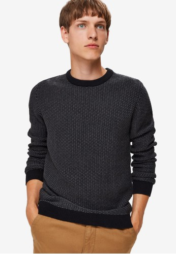 Selected Homme grey Organic Jumper 2C82AAA1F29B8AGS_1