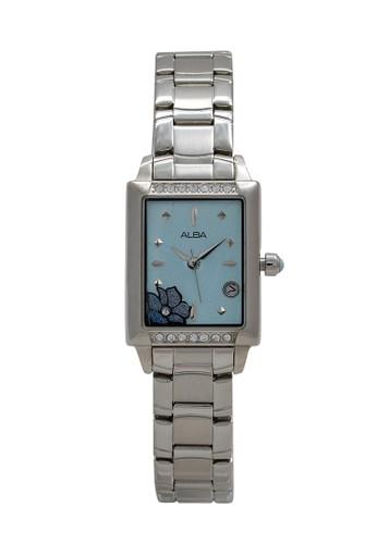 Alba silver ALBA Jam Tangan Wanita - Silver Blue - Stainless Steel - AXT389 37791ACBAF86ECGS_1
