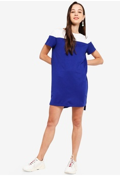 c390dac365 11% OFF Something Borrowed Colorblock Yoke Shift Dress S  29.90 NOW S   26.60 Sizes XS S M L XL