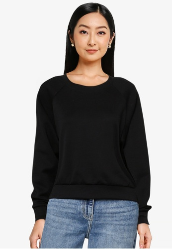 ONLY black Joy Long Sleeve Sweatshirt BBBCFAAA837C83GS_1