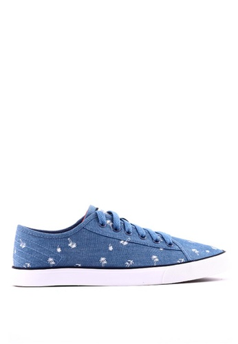 World Balance blue Brittany L Sneakers 56247SHBFA579DGS_1