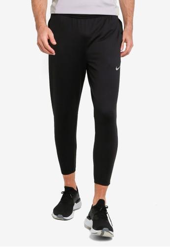 Nike black Essential Knit Running Pants 35FBCAA946D0A9GS_1