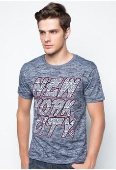 Round Neck Graphic Print T-shirt