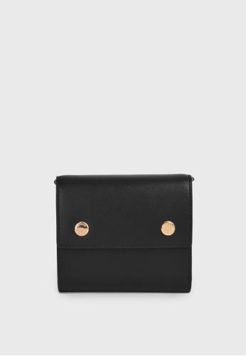 Tocco Toscano black Holly III Trifold Wallet (Black) 353E0ACA079D85GS_1