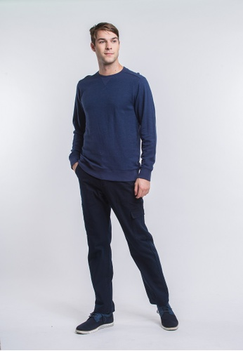 Roamers blue Monterey Pullover 6E756AADF6C068GS_1