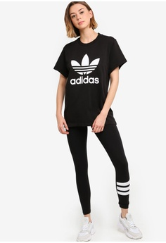 846590b3 adidas adidas originals boyfriend trefoil tee HK$ 299.00. Sizes 34 36 38