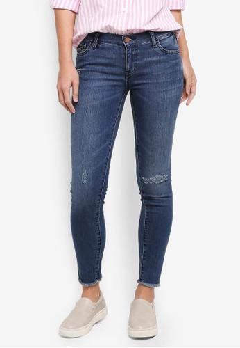 Calvin Klein blue Skinny Jeans - Calvin Klein Jeans 4F056AA4E35A50GS_1