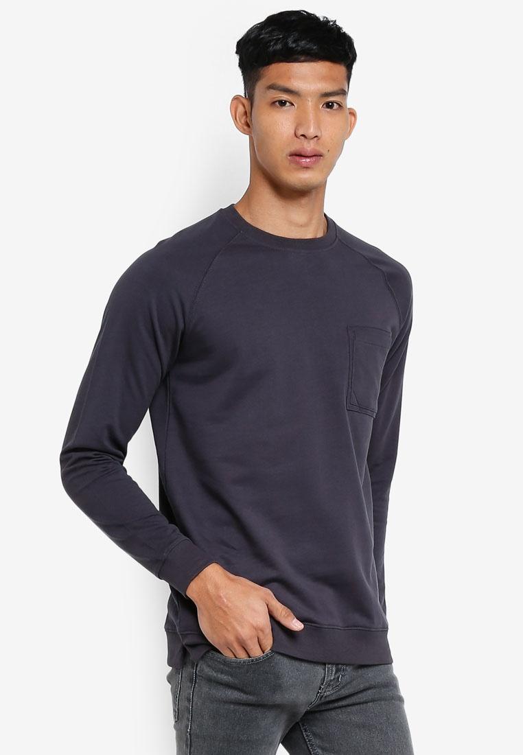 Sweatshirt Sleeve Sweatshirt Raglan OVS Sleeve Phantom Raglan Sleeve OVS Sweatshirt Raglan OVS Phantom Phantom wIffdq