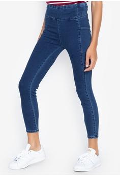 febee7c0aece8a Freego blue Women High Waist Yoga Jegging Jeans 29016AA6379466GS_1