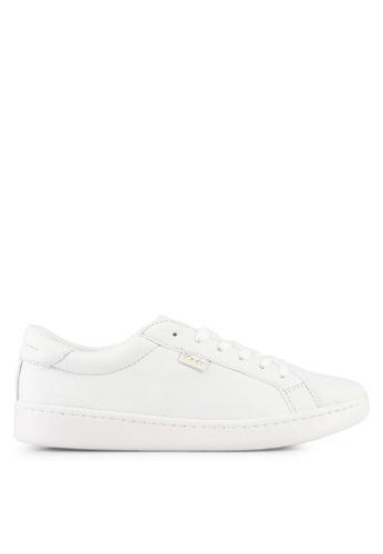 Keds white Ace Ltt Leather Sneakers KE942SH0STERMY_1