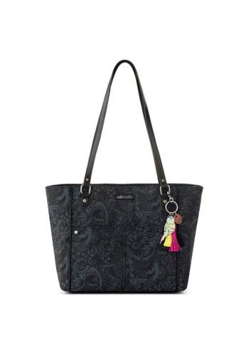 Sakroots black Metro Tote Shoulder Bag 57CD7AC8CA2CF3GS_1