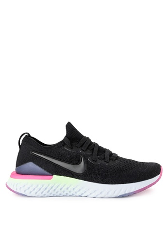 0a703d9c0ca Nike black Nike Epic React Flyknit 2 Shoes 88D27SH8E4E9AFGS 1