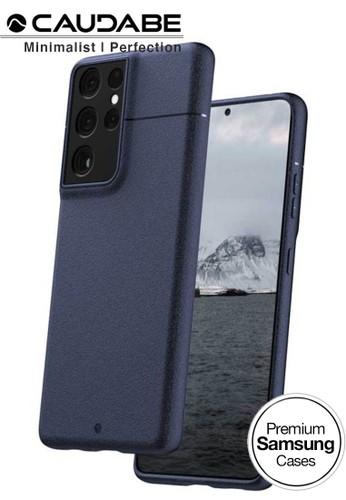 Caudabe black Case Samsung Galaxy S21 Ultra 5G - Caudabe Sheath Casing - Navy 483F0ESE039245GS_1