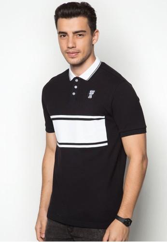 撞色條紋POLOesprit 價位 衫, 服飾, Polo衫