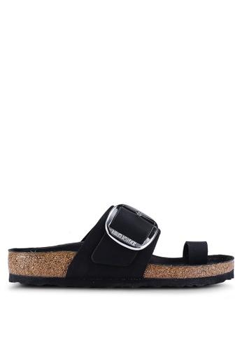 2aafeb2fb02f Buy Birkenstock Miramar Big Buckle Oiled Leather Sandals Online on ZALORA  Singapore