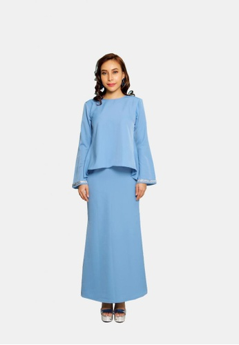 Selma Fishtail Modern from KAMDAR in Blue