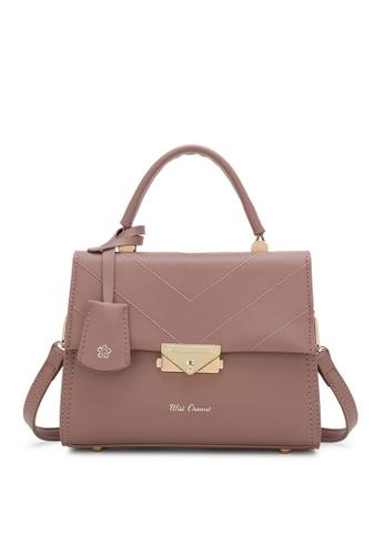 Wild Channel pink Top Handle Bag C55E7AC644D814GS_1