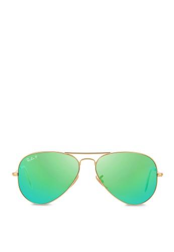 Aviator 反光偏光鏡片太陽眼鏡, 飾品配件, esprit 面試飾品配件