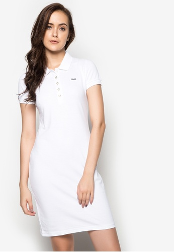 Le Tigre white Ladies Dress LE798AA34XSJPH_1