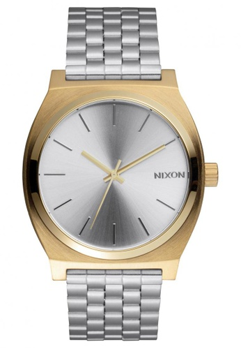 Nixon Nixon - Time Teller Silver/Gold Watch NI855AC50EFPSG_1