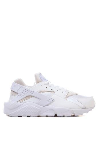 nike white nike air huarache run shoes ni126sh17rsoph1
