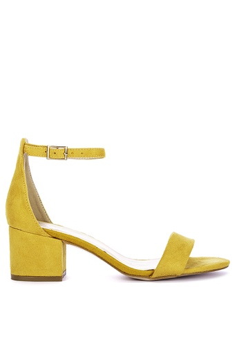 ABOUT A GIRL yellow Heeled Sandals 3CC3DSHB6F347AGS_1