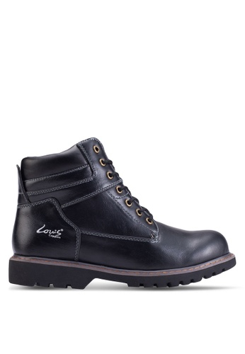 Louis Cuppers black Lace-Up Boots LO977SH60ZKLMY_1