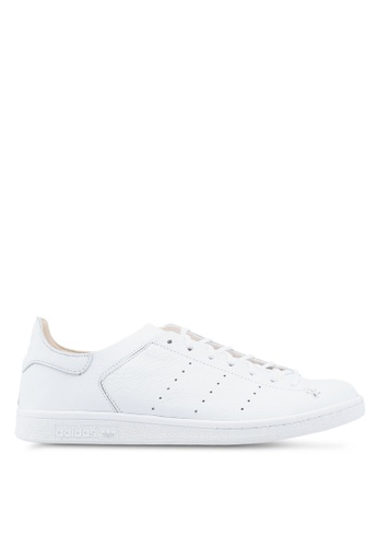 adidas white adidas originals stan smith sock shoe AD372SH0SUM3MY_1