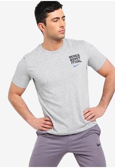 027a453dca5 Nike grey As Men's Nike Dry Dfc Reps Tee D327BAA7BFA8A4GS_1