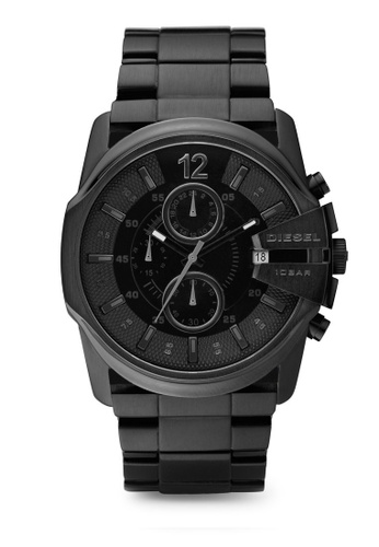 Diesel black Diesel Master Chief Chrono Black Stainless Steel Watch DZ4180 DI095AC92NKTMY_1