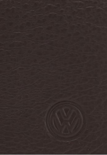 Volkswagen brown Volkswagen Genuine Leather Money Clip 7057DAC43EF889GS_1