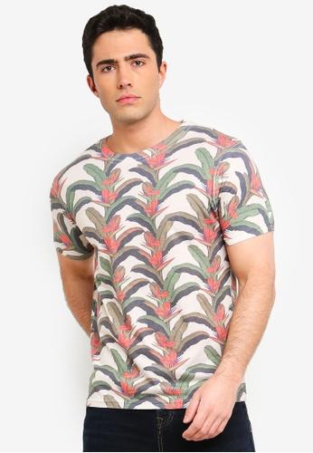 07d6c285a567d Shop Topman Paradise T-Shirt Online on ZALORA Philippines