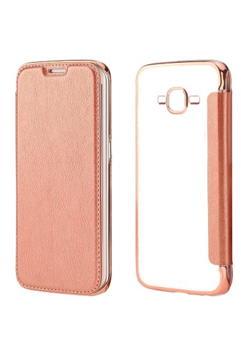 factory authentic de0cc d4cdc Ultra Clear Slim Case with Flip Cover for Samsung Galaxy J2