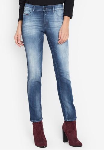 Diesel navy Sandy L.30 Trousers Jeans DI095AA0JV82PH_1