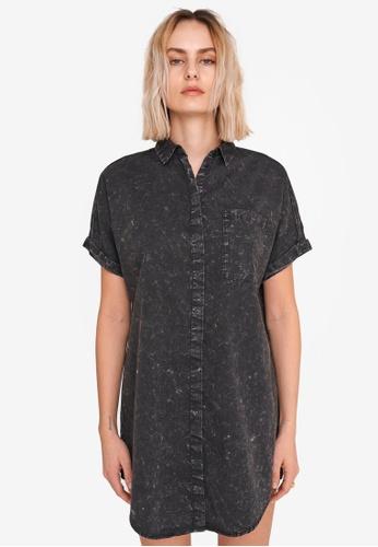 Noisy May black Sadie Shirt Dress 0915BAA516FD48GS_1