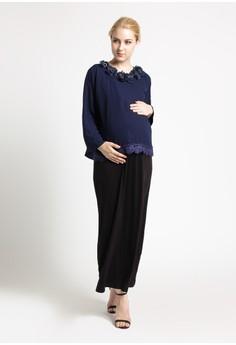 Image of Chantilly Maternity/Nursing Dress 53026