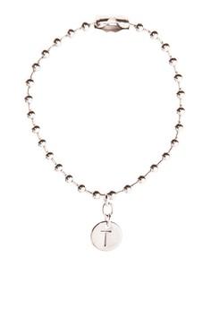 Stainless Steel Coin Bracelet T