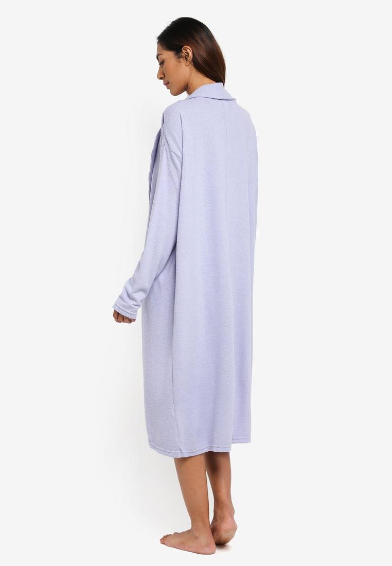 Electric On Marle Super Cardigan Lilac Body Soft Cotton OwdaOX