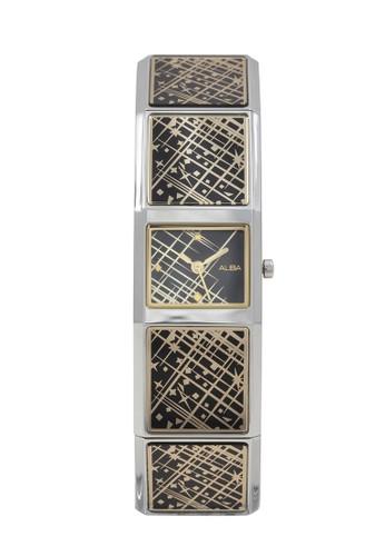 Alba silver ALBA Jam Tangan Wanita - Silver Black Gold - Stainless Steel - AC3T21 35CD8ACDFD759DGS_1