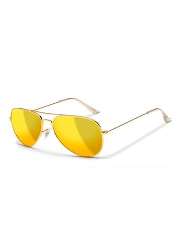 Sensolatino Eyewear gold Sensolatino Eyewear Aviano Large With Luxury Gold  Polarized Lenses 1C435GL8AFD2ADGS_1