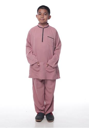 Denai Boutique pink Baju Melayu Sayyed 35CA7KA20A4833GS_1