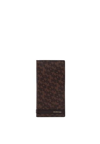 SEMBONIA brown SEMBONIA Men Genuine Leather Wallet (Brown) B1412ACBB6A576GS_1