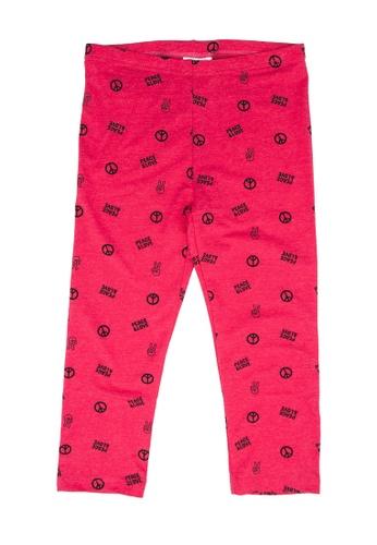 FOX Kids & Baby pink Graphic Pants 96F39KA22AFC91GS_1