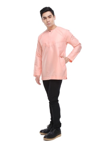 Amar Amran orange Kurta Al Amin 2.0 212C1AA0714115GS_1
