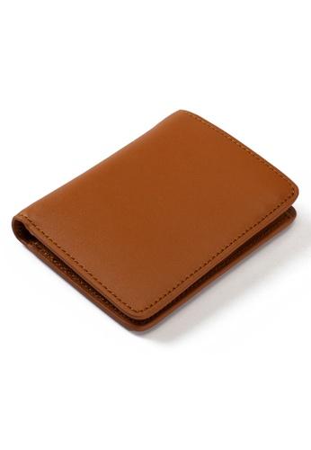PLAIN SUPPLIES brown Eli II  RFIDsafe Bifold- Cognac 21C33ACC8AEEB6GS_1