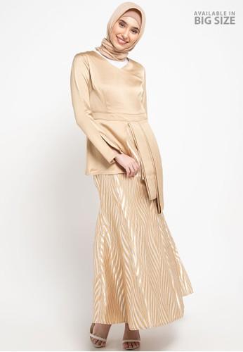 Cardinal brown Femme-Long Gamis 76165AA3A9ACEDGS_1