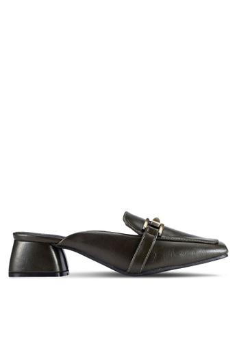Alfio Raldo green Slip On Mule Heels AL803SH0R9PWMY_1