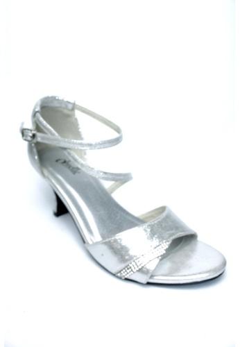 Ohrelle silver Livie Ankle-Strap Heels OH449SH86FABPH_1